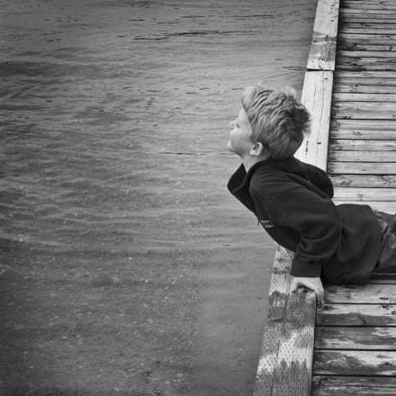 Meditation of a boy
