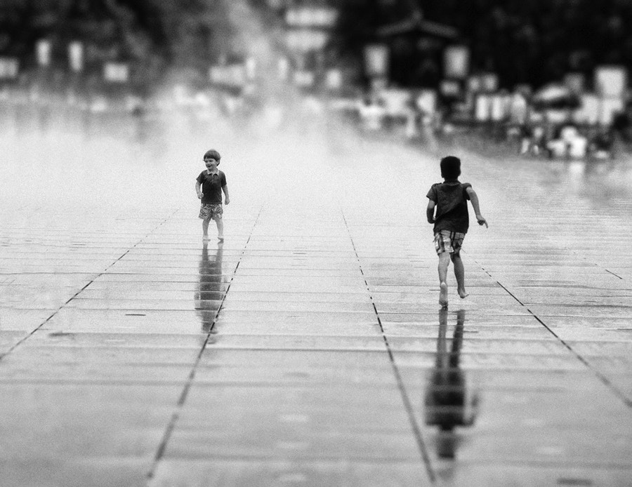 Photograph Childhood running #3 by Magali K. on 500px