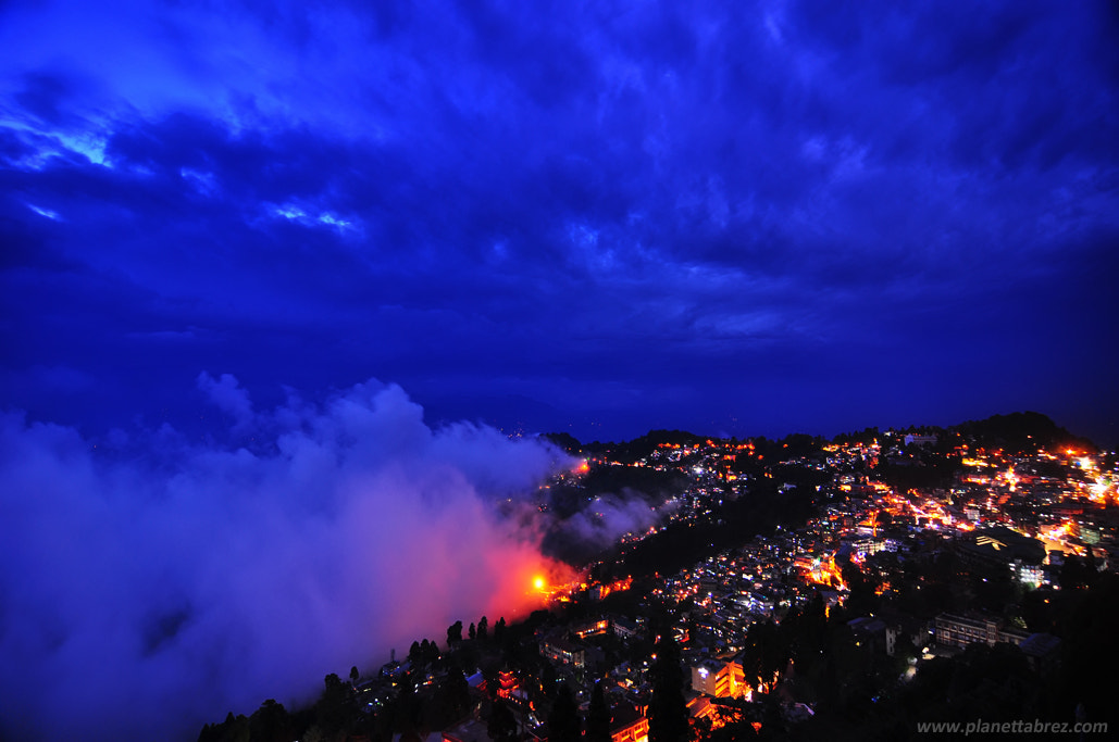 Photograph Monsoon madness-Storm clouds over Darjeeling by tabrez ahmad on 500px