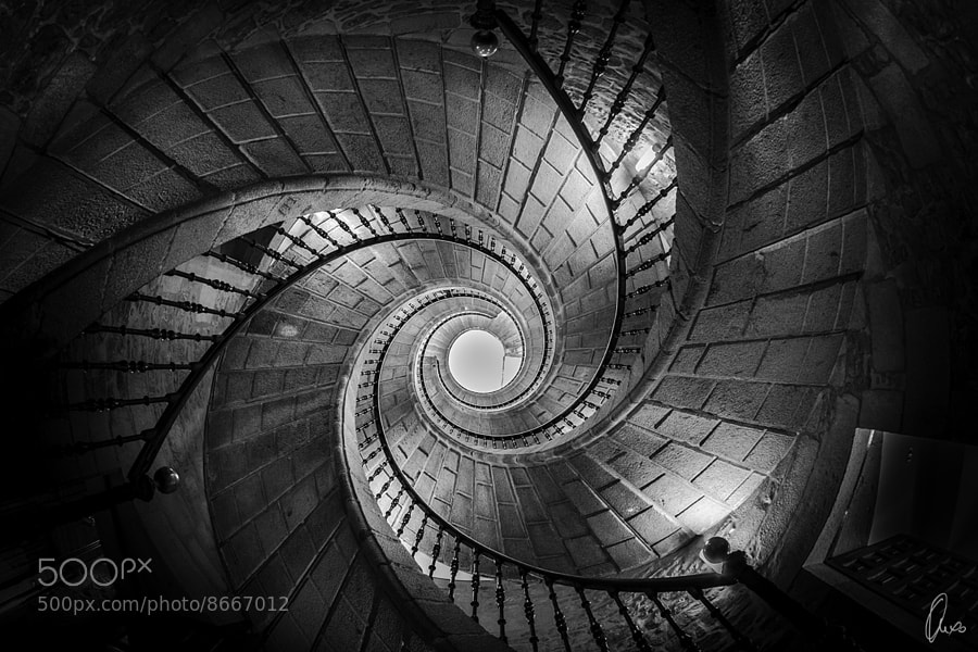 Photograph Triple staircase by Ángel Sánchez García on 500px
