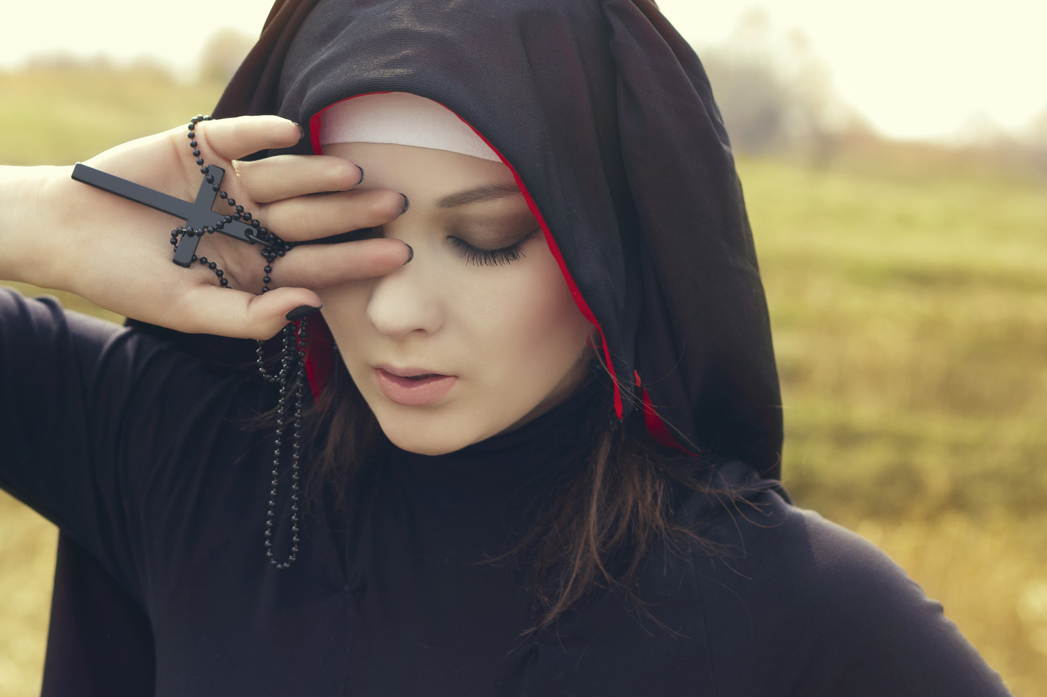 Photograph Fateful nun by Dmitry Patlay on 500px