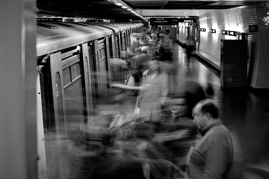 Subway In Lisboa by Damien Dohmen on 500px.com