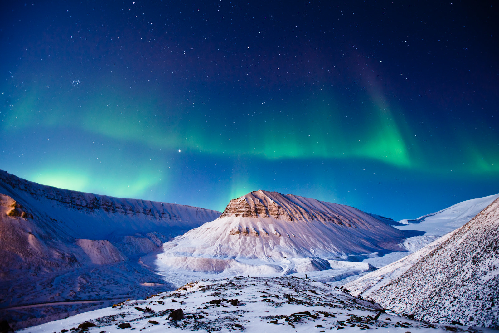 Photograph Polar lights over Svalbard by Max Edin on 500px