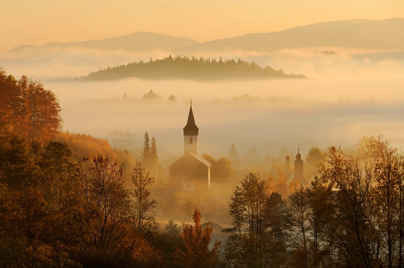 only in autumn by Sebastian Luczywo on 500px.com