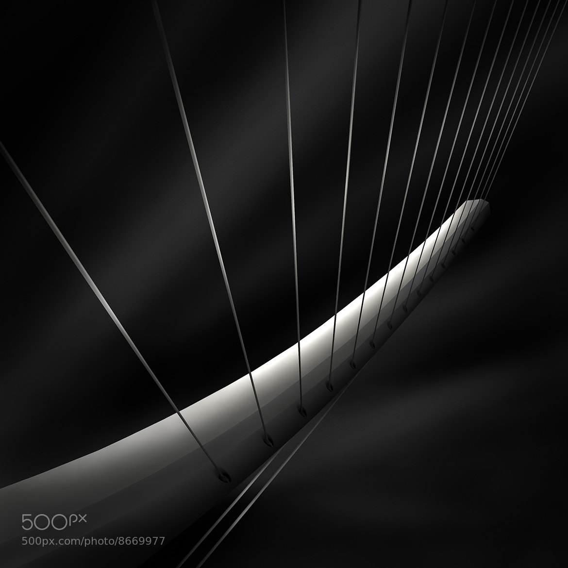 Photograph like a harp's strings IV - radiating by Julia Anna Gospodarou on 500px