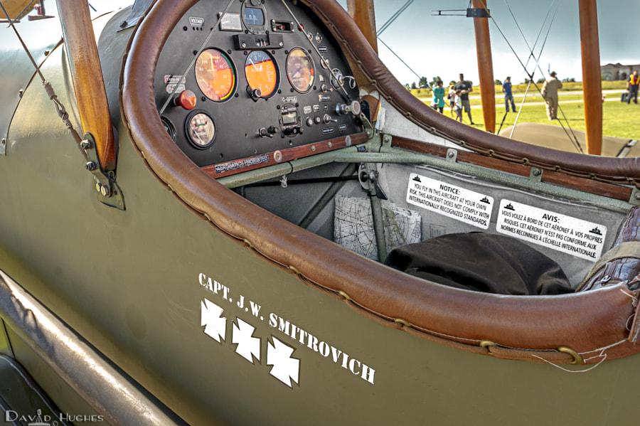 Austin RAF SE5a Replica Cockpit