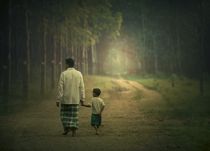 Photograph with dad by Teuku Jody  Zulkarnaen on 500px