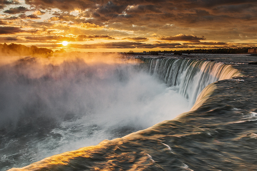 Photograph Sunrise at Niagara Falls by Alexey Abramenko on 500px