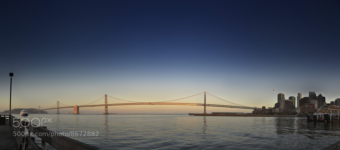 Photograph Oakland Bay Bridge by Michael Fey on 500px