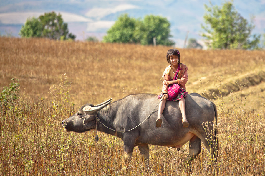 Going to school by Andrey  on 500px.com