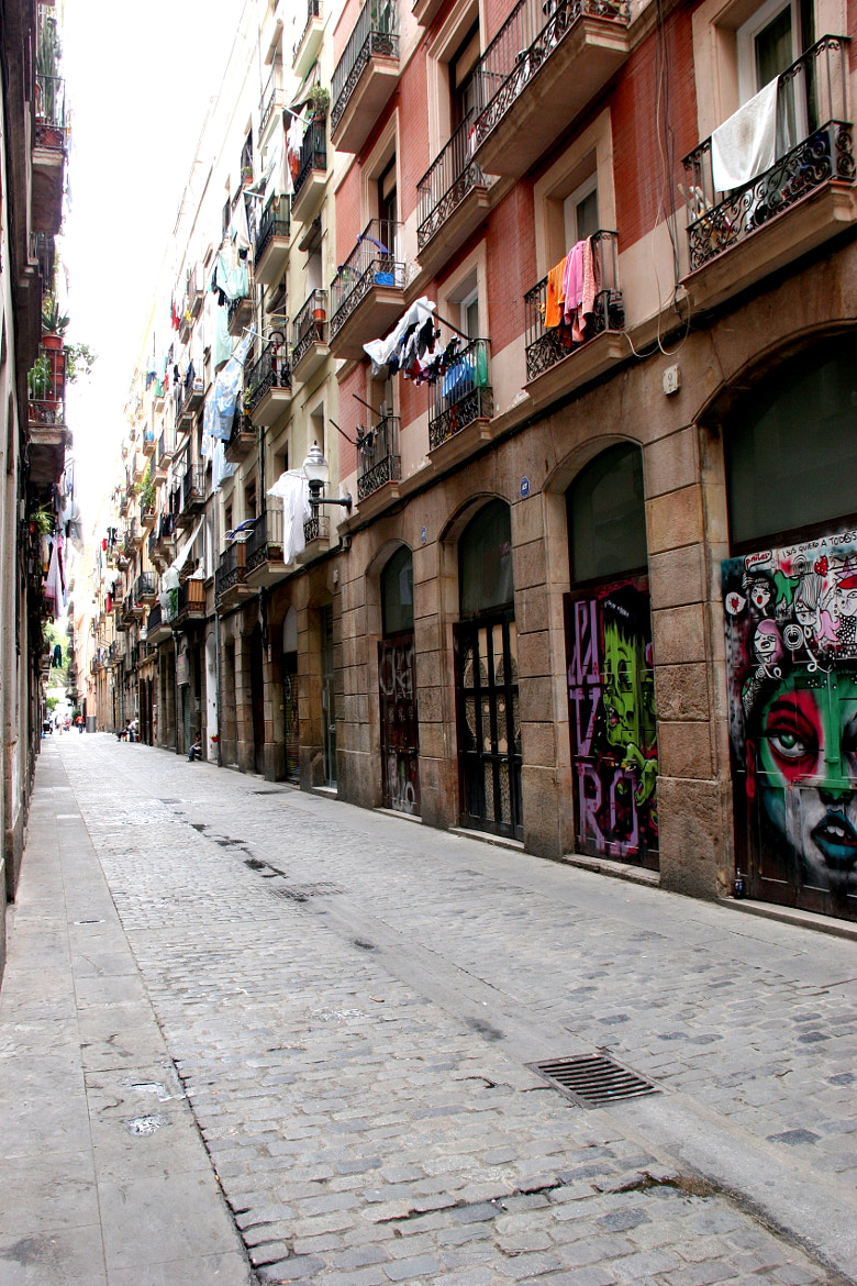 Photograph Barcelona Street by Perle Laouenan-Catchpole on 500px