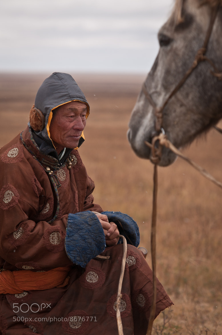 Photograph Nomadic herder by Giedrius Dagys on 500px