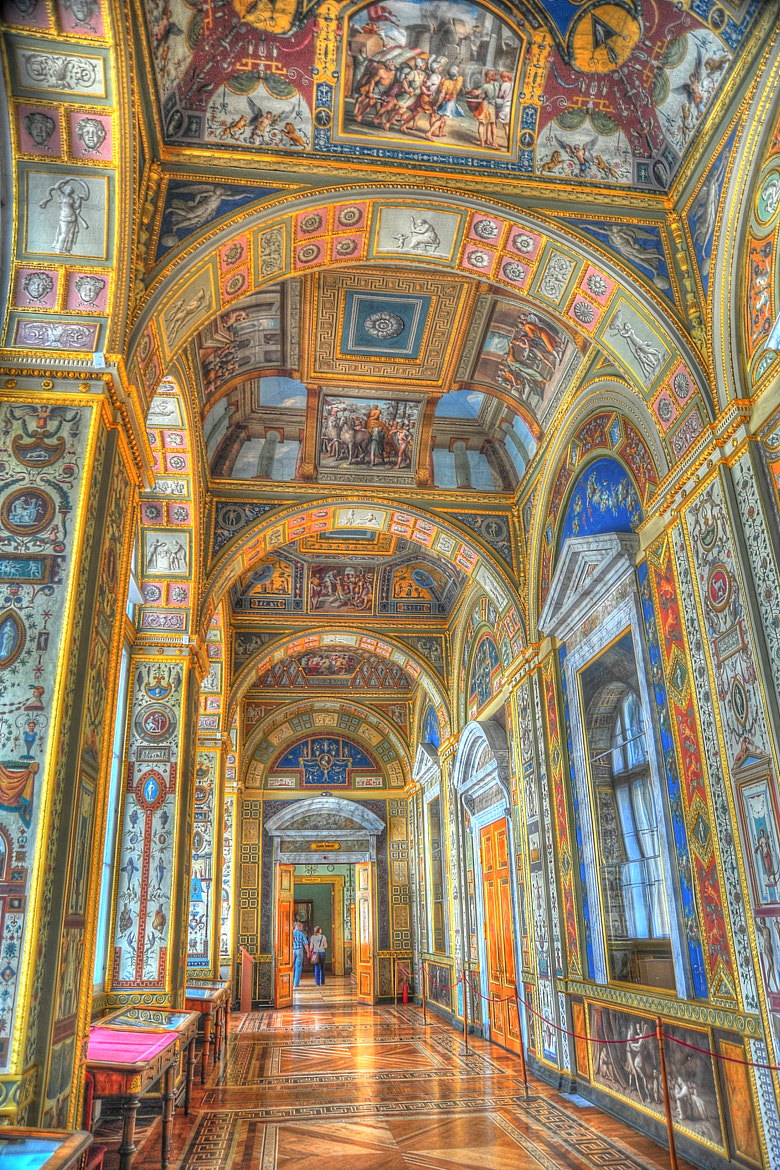 Photograph Loggia of Raphael. New Hermitage. by VZ Photography on 500px