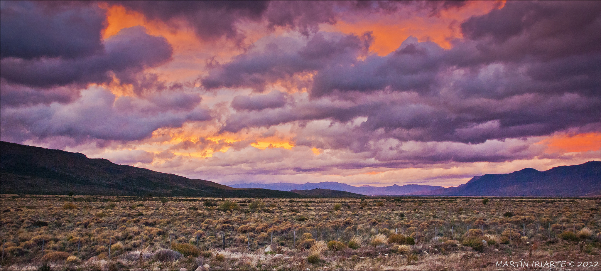 Photograph Patagonian Sunset by Martín Iriarte on 500px