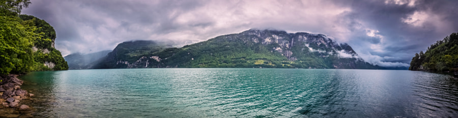 Walensee, a panorama