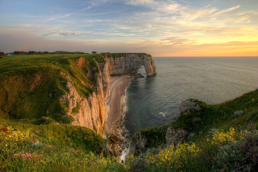 Étretat in Normandy France by Vath. Sok on 500px.com