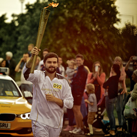 Olympic Torch Runner  by James Johnson (JamesJohnson)) on 500px.com