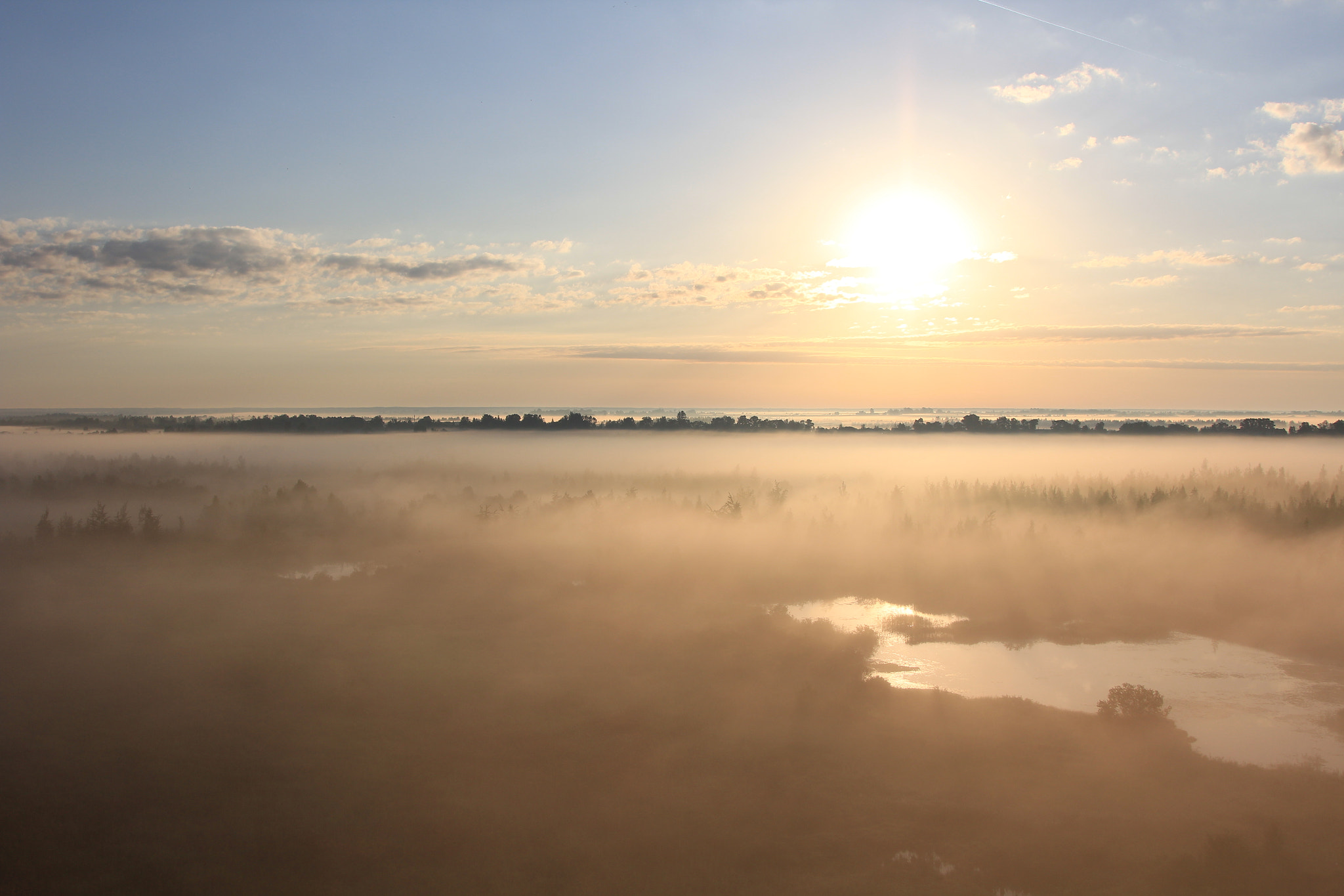 Photograph morning from balloon by Alexander Chernov on 500px