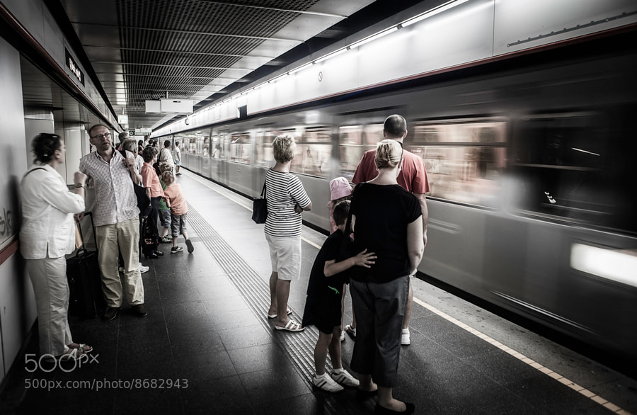 Photograph Wien subway II. by Tomas Pospichal on 500px