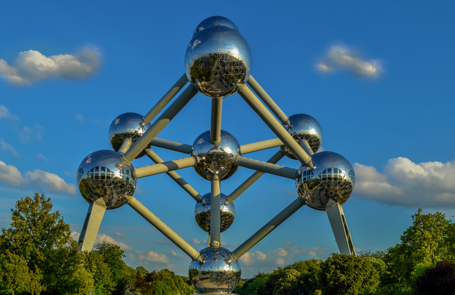 Photograph ATOMIUM BRUSEL, BELGICKO by Lubomir Mihalik on 500px