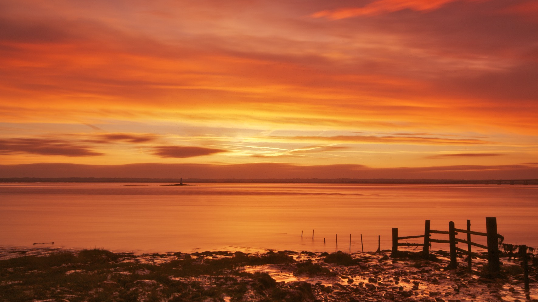 Photograph Sunrise over the Severn Estuary by Ben Houghton on 500px