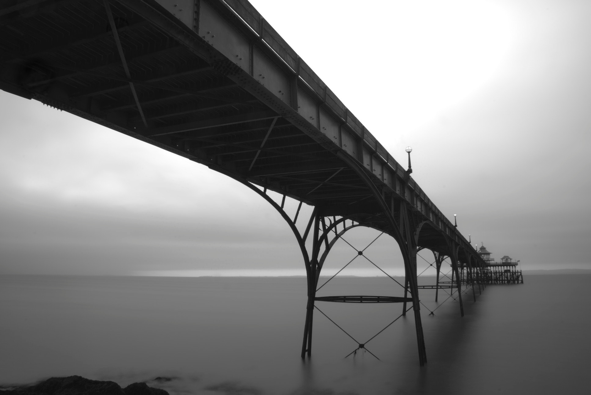 Photograph Clevedon Pier by Ben Houghton on 500px
