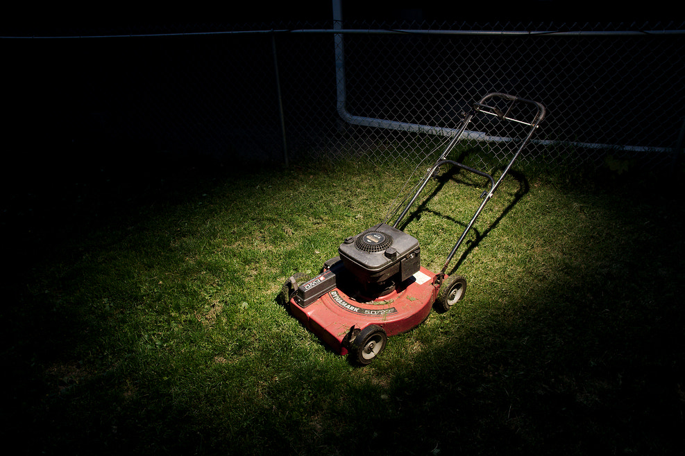 Photograph Lawnmower Man by Instant Kamera on 500px