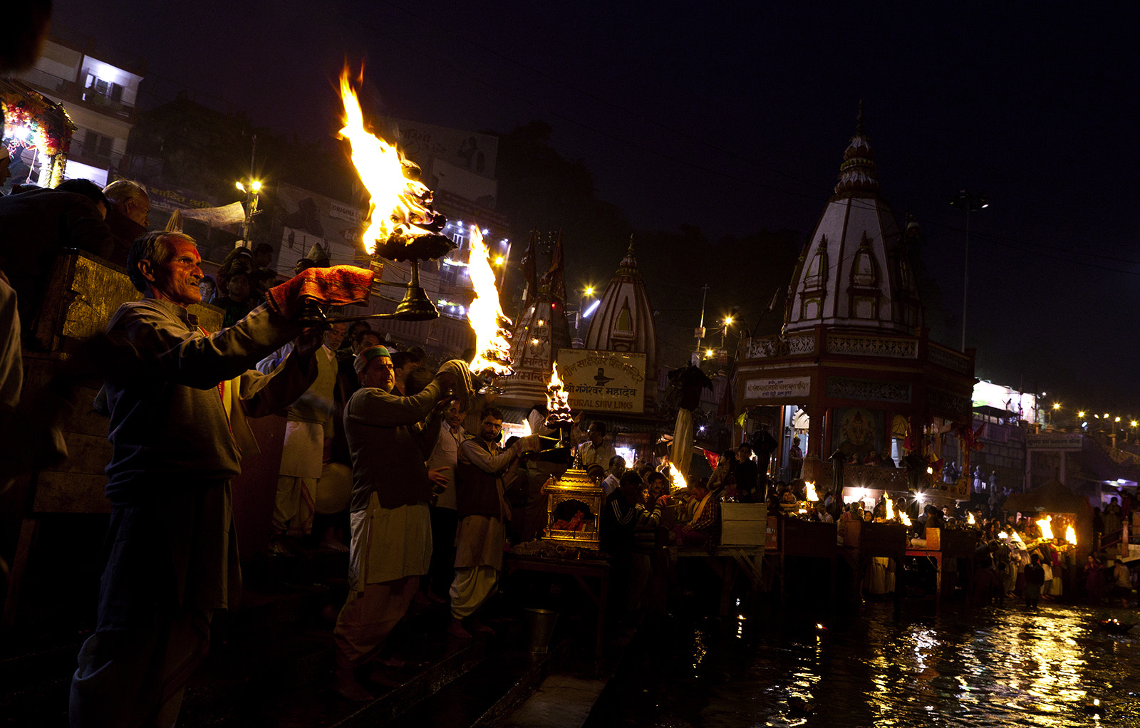 Photograph Ganga Aarti by shutterboy on 500px