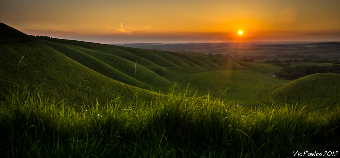 Photograph Sunset From Dragon Hill Road by Vic Powles on 500px