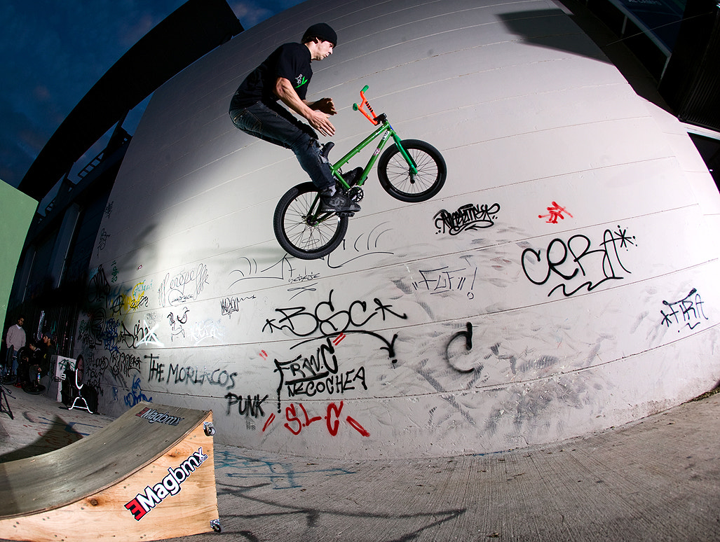Photograph Tomás Mingorance - Barspin to wallride by Andres Harambour on 500px