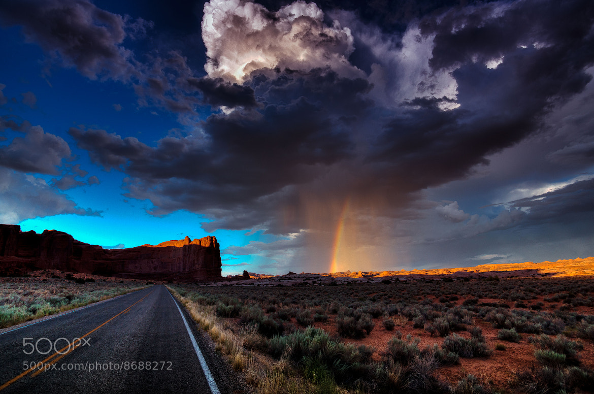 Photograph rain cloud - COLOR Version by Stefan Thaler on 500px