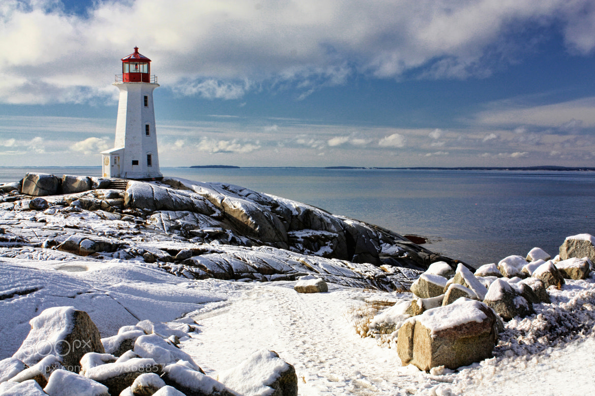 Photograph Winter at Peggy's Cove by Amanda White on 500px