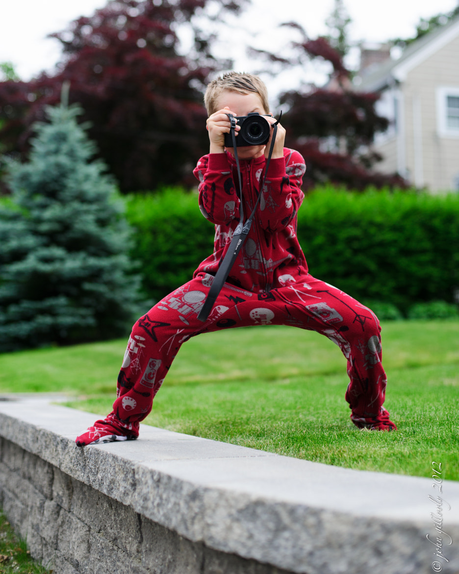 Photograph Johnny the PJ Shooter #2 by John Gillooly on 500px