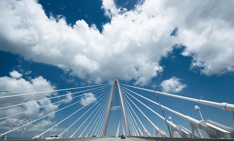 Photograph Charleston ~ Ravenel Bridge by Beth Blackwell Cullen on 500px