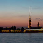 Постер, плакат: White Nights of St Petersburg Peter and Paul Fortress