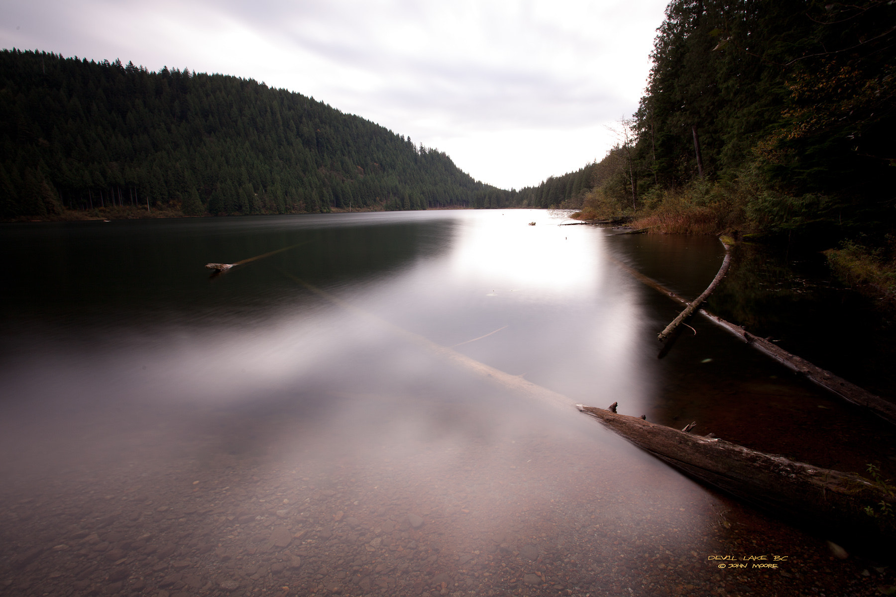 Photograph Devil Lake BC by John Moore on 500px