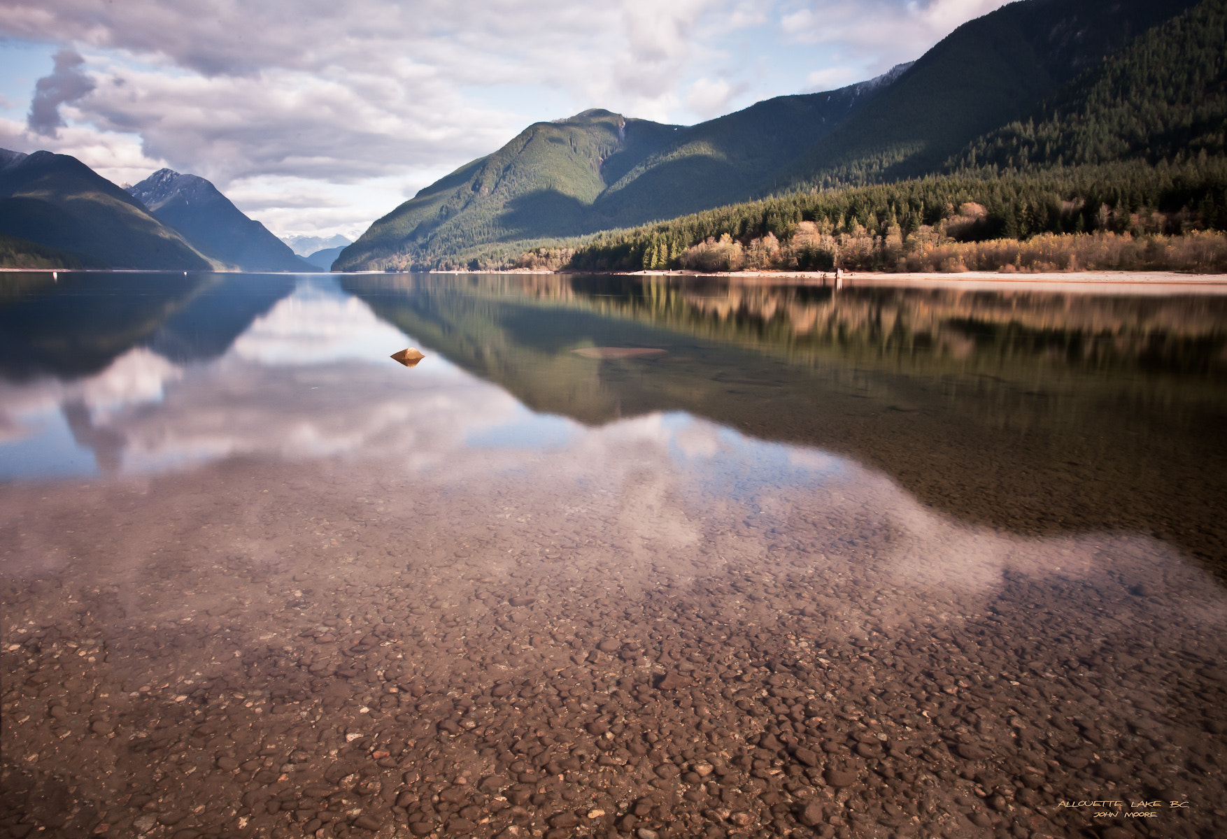 Photograph Allouette Lake BC by John Moore on 500px