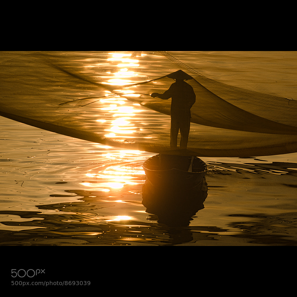 Photograph Golden fisherman by Malcolm Fackender on 500px