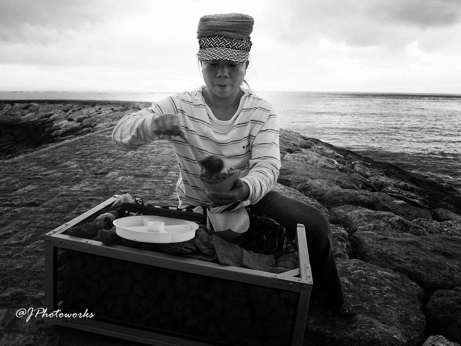 Photograph Lumpia Seller  by johanes  siahaya on 500px