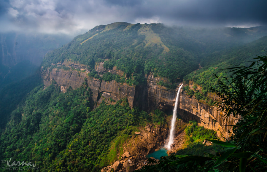 Photograph Nohkalikai WaterFalls by Karnav Dey on 500px
