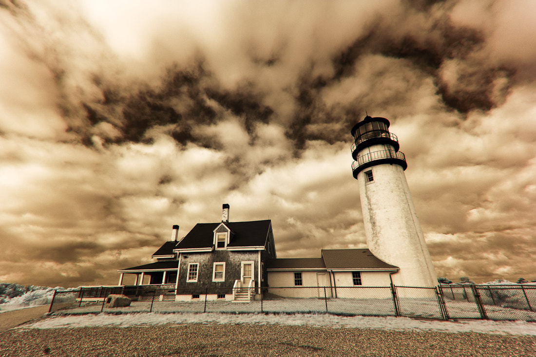 Photograph Cape Cod Lighthouse - Infrared by Manish Mamtani on 500px