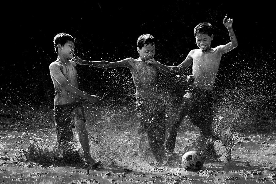 Photograph Mud Soccer III by JD Ardiansyah on 500px