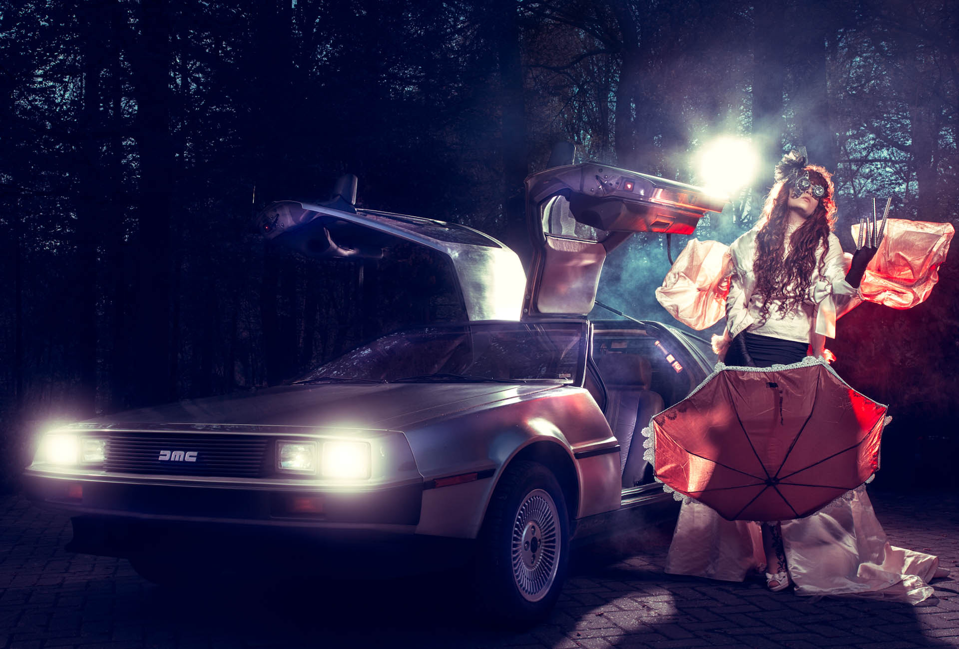 Photograph Back to the .... Delorean 2 by  Doorhof on 500px