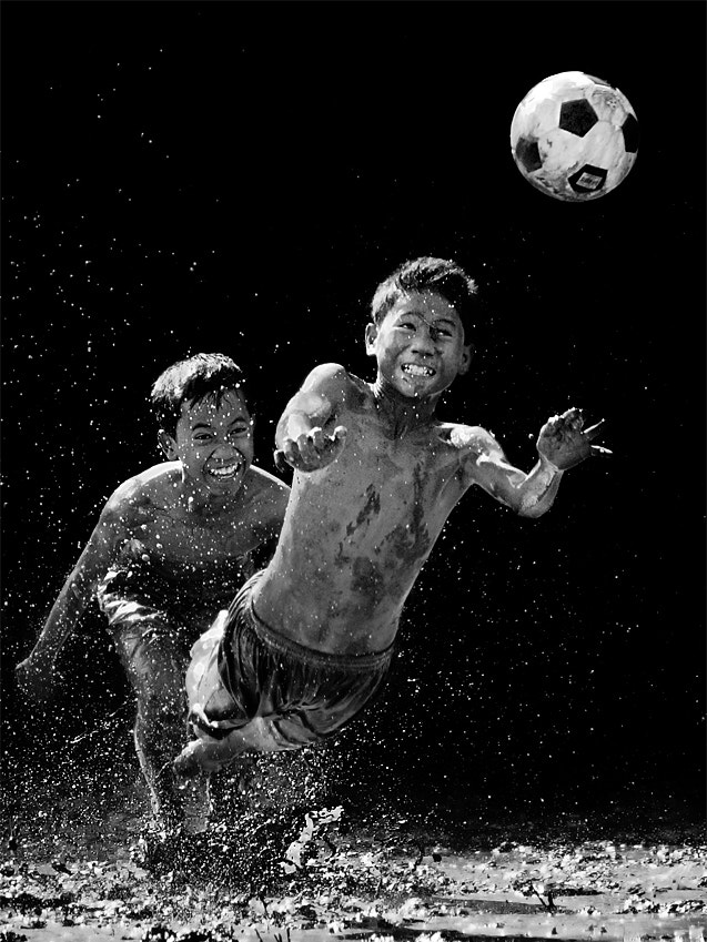 Photograph Mud Soccer by JD Ardiansyah on 500px