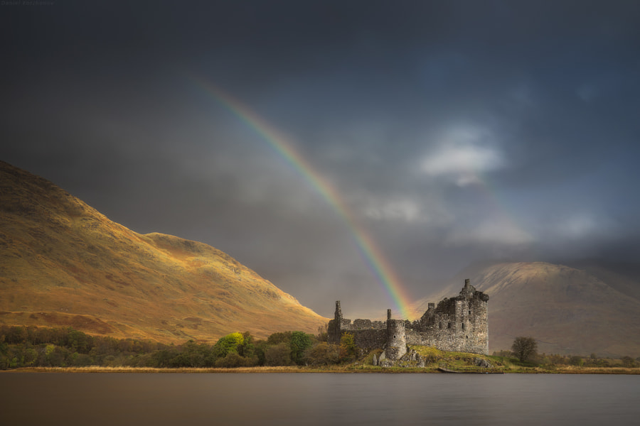 Photograph Kilchurn sky bridge by Daniel Kordan on 500px