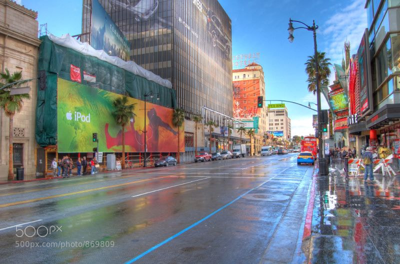 Photograph LA after the rain by Max Spiker on 500px