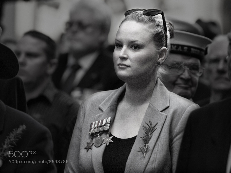 Photograph Lady Veteran by Anton Rahmadi on 500px