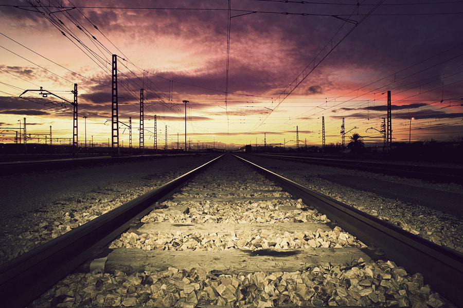 Photograph Train of our life by Manuel Orero on 500px