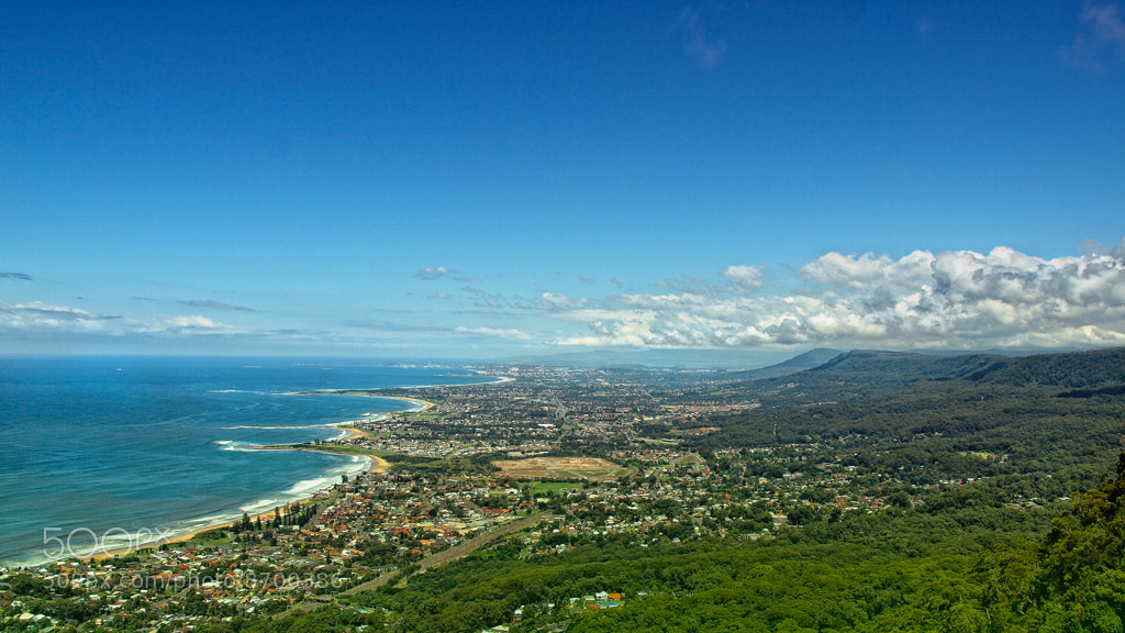 Photograph Wollongong from a distance by Anton Rahmadi on 500px