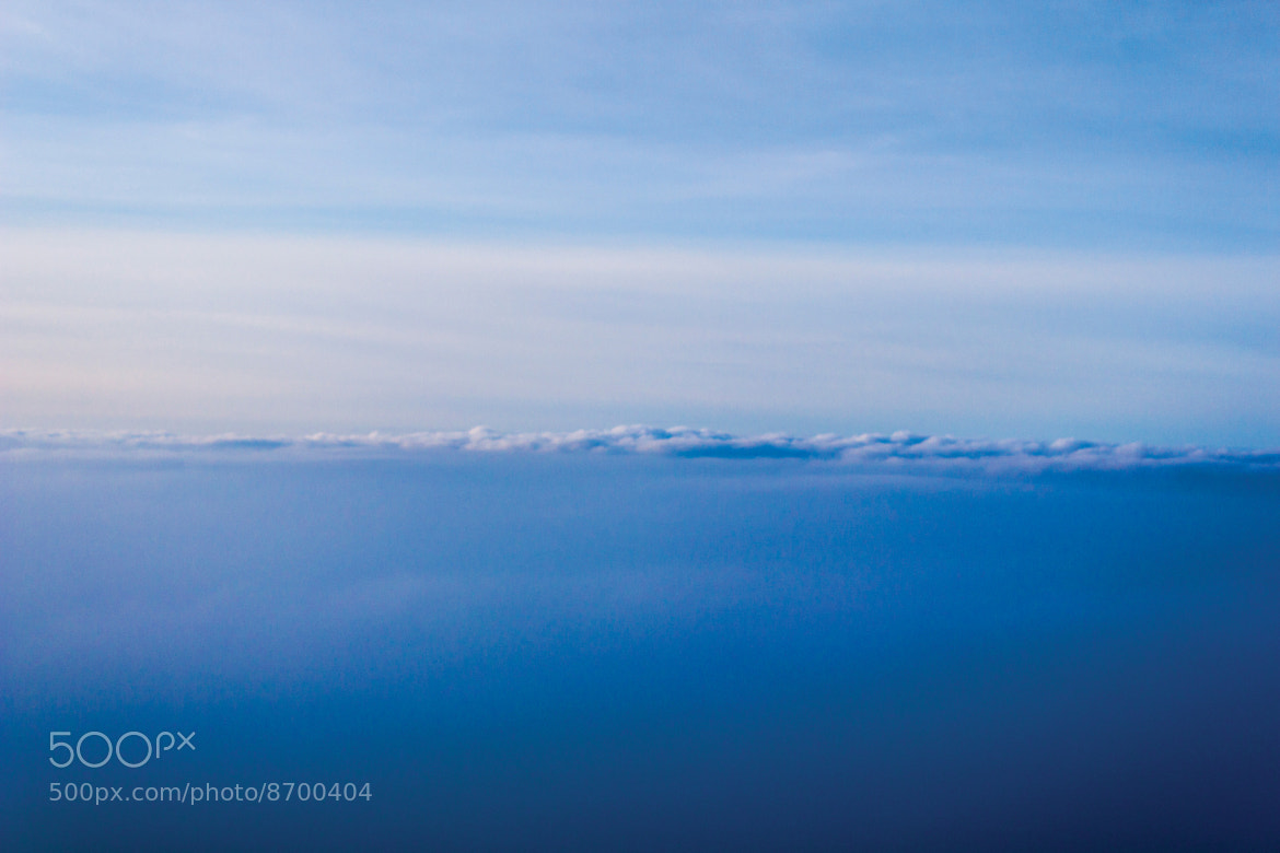 Photograph Blue horizon by Aurélien D'Silva on 500px